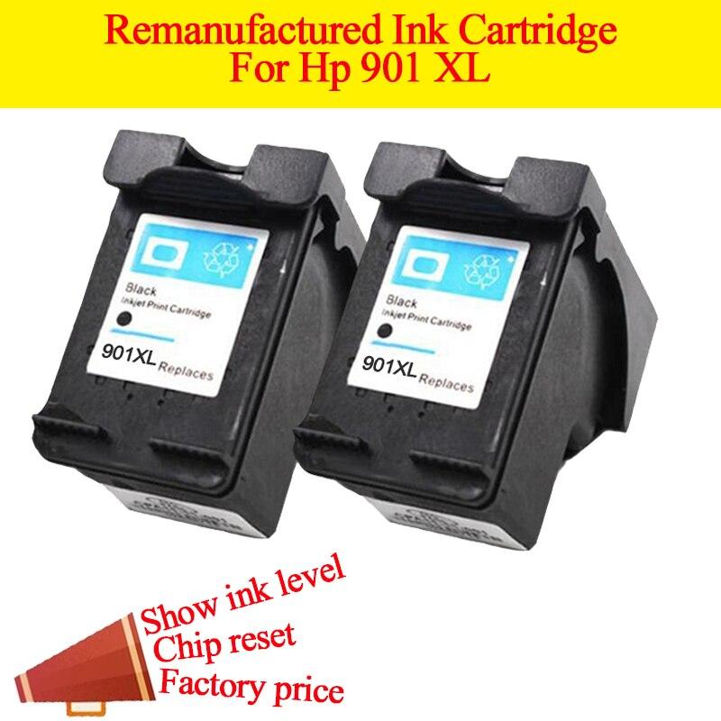 Cartucho de tinta de impresora GN 2BK Remanufacturado para cartuchos - Electrónica de oficina