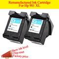 GN 2BK printer ink cartridge Remanufactured for HP 901 XL Ink Cartridges for Officejet 4500 J4500 J4540 J4550 J4580 J4640 J4680c