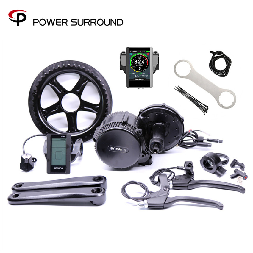 New Direct Selling 48v750w 8fun Bafang Bbs02bbicicleta Eletrica Mid Motor Centerelectric Bike Conversion Kit