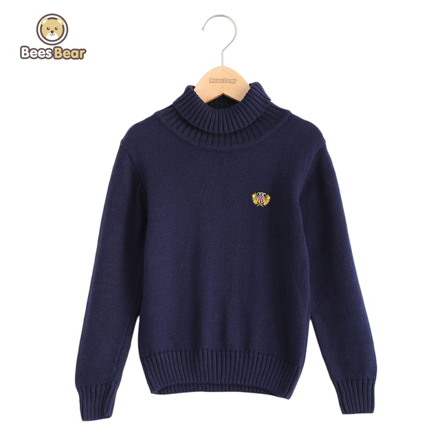 ee31804f6 BeesBear Boys Kids Sweater Pullovers Children Clothing Baby Girls ...