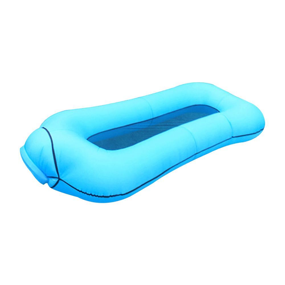 La piscine gonflable de matelas d'air de natation de plage de rangée flotte le lit de sommeil de salon flottant pour la partie de Sports nautiques