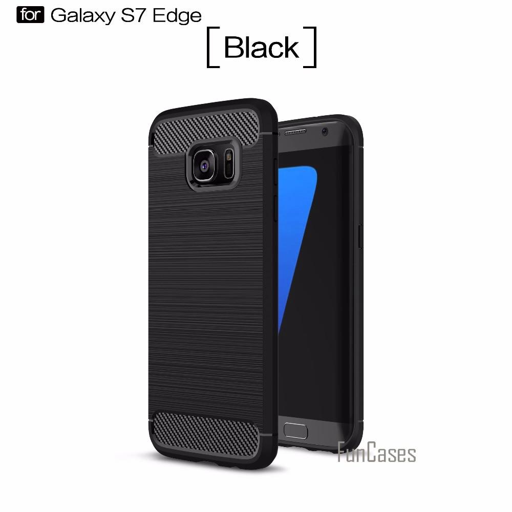 Étui souple la sfor Samsung S7 Bord Cas 5.5 pouce G9350 G935 la sfor fundas Samsung Galaxy S7 Bord Cas Couverture de téléphone portable