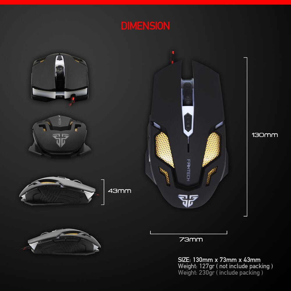 V2 Original Computer Wired Mouse USB Optical Gaming Mouse Mice Cable ...