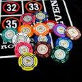 Фишки для покера фишки Казино Техасский Холдем Покер 14 г Утюг + Клей + ABS Оптовые Фишки Для Покера Баккара Высококлассные Набор fichas de покер