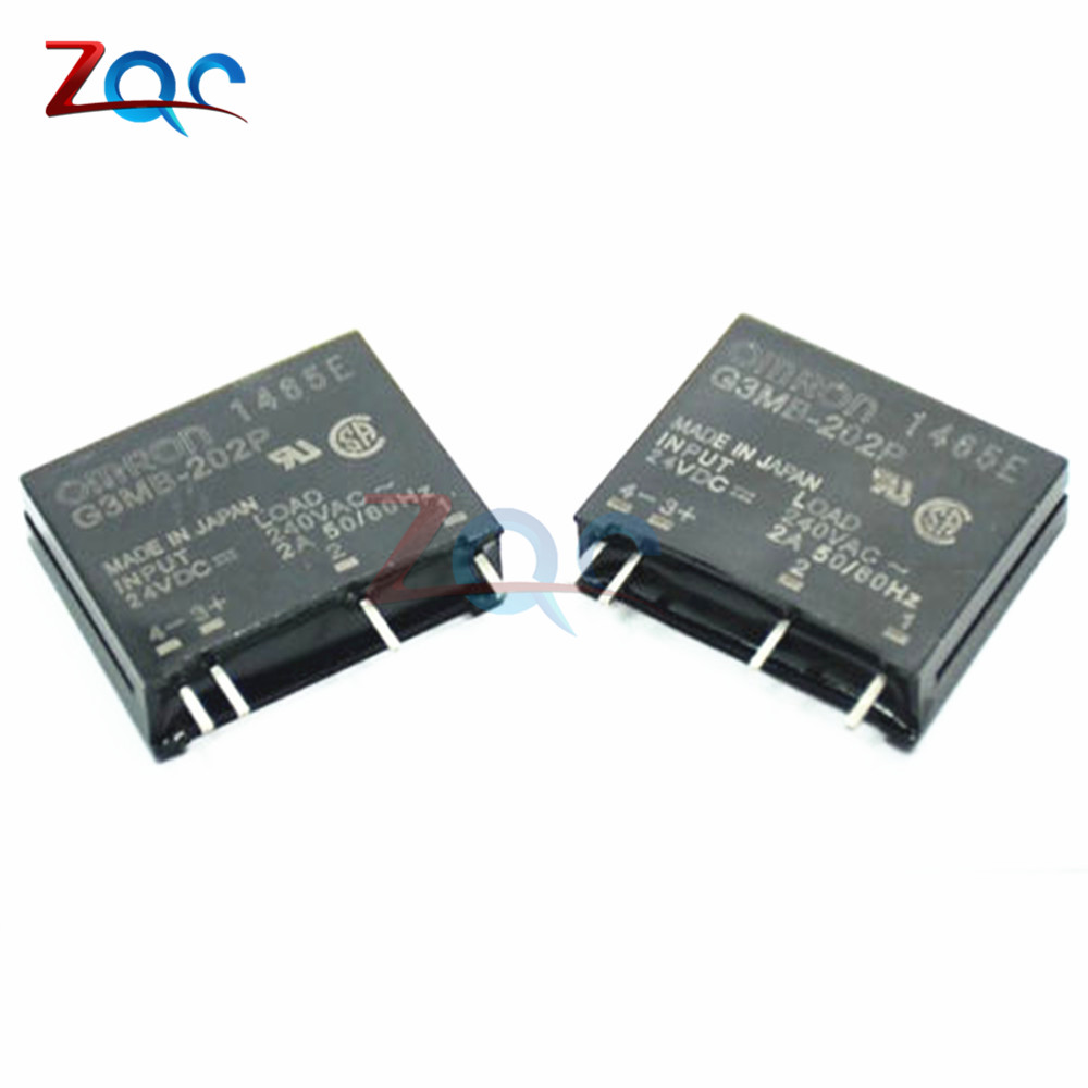 G3MB-202P-24V DC-AC PCB SSR In 24V DC Out 240V AC 2A Solid State Relay Module