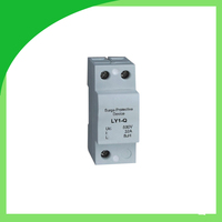 Ly1 Q 32A AC Surge Arrester Lightning arrester 1 pole Decoupling Device Surge Suppressor