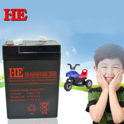 High quality 6v 4ah small storage battery mf backup battery toy car electric car battery ups battery 6v 4ah 4.5ah 70x47101mm