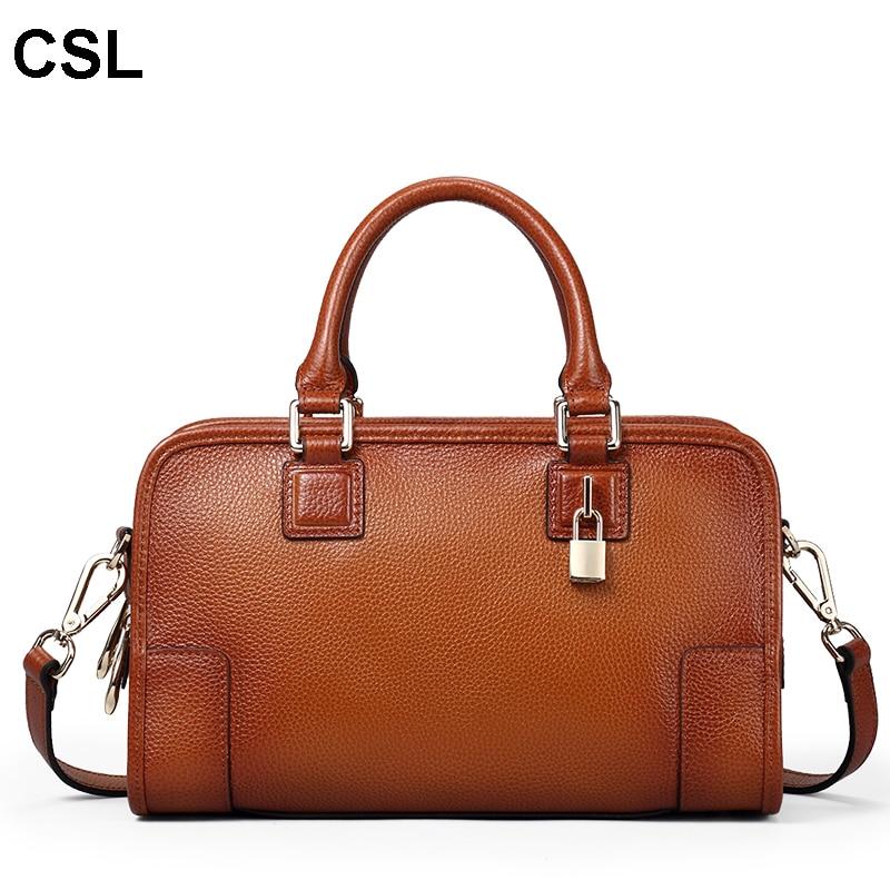 Fashion Designer Brand luxury Women Handbags 100% Genuine Leather Cowhide ladies Shoulder bags tote Bag Vintage Messenger Bag