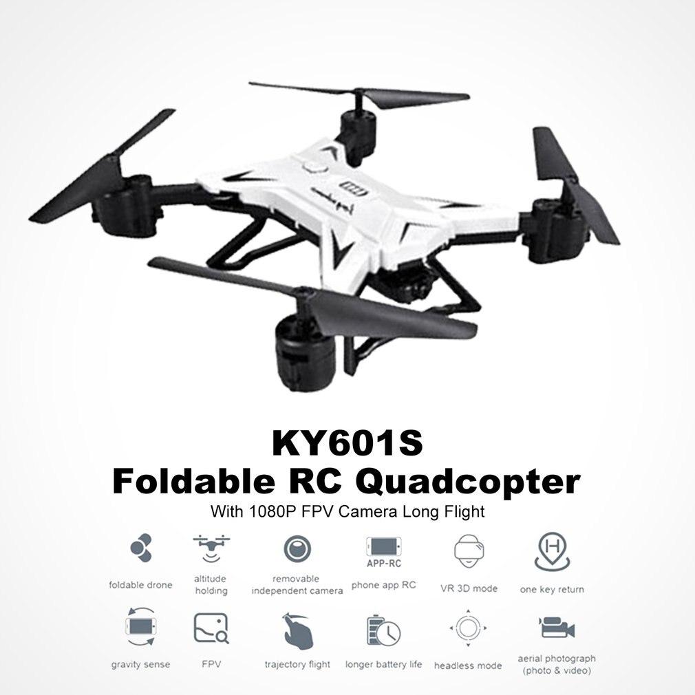 Professionale KY601S 4 Canale di Lunga Durata Pieghevole Braccio di Telecomando Quadcopter Modalità Senza Testa di Nuovi Aeromobili RC Mini Elicottero
