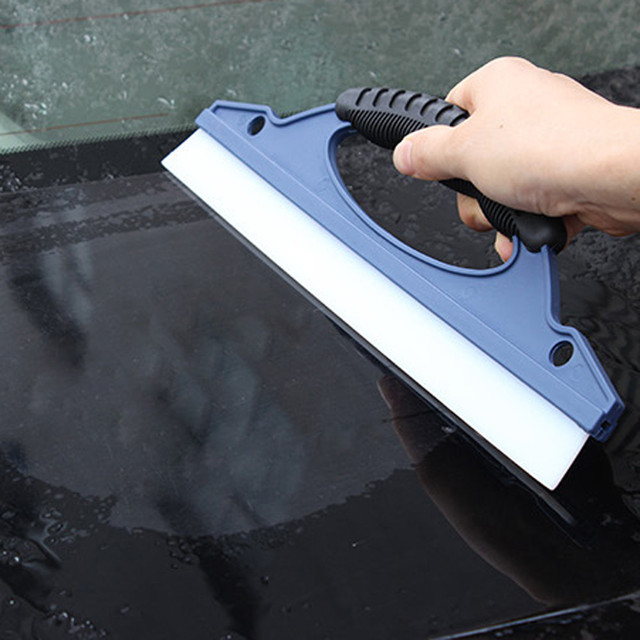 Hot Selling Universal Glass Window Wiper Soap Cleaner Squeegee Shower Bathroom Mirror Car Blade Brush Car Styling Accessories