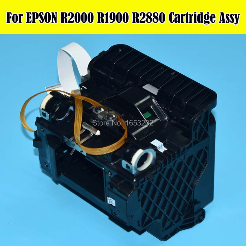 100% NEW Original For EPSON F186000 Cartridge Assy Use For Epson Stylus R2000 R1900 R1800 R2880 R2400 Printer original ink damper for epson b6000 b6080 f6000 f6080 f6280 f6070 f6270 b6070 f6200 printer dumper duct assy cr asp