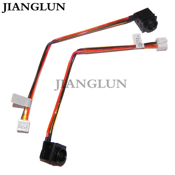 JIANGLUN 5X New DC Power Jack With Cable Harness For P/N:073-0001-3775_A SONY VGN-NR200 series (VGN-NR220E, VGN-NR220E/S, V