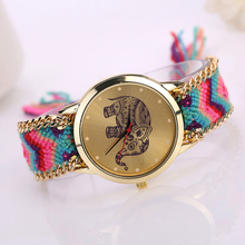 Excellent Quality Vintage Women Native Handmade Quartz Watch Knitted Dreamcatcher Watch Relojes Mujer Drop Ship Christmas Gift