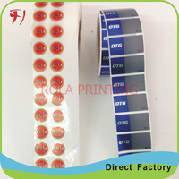 Customized   Cheap custom colorful printing strong adhesive orange juice label, beverage label for bottle