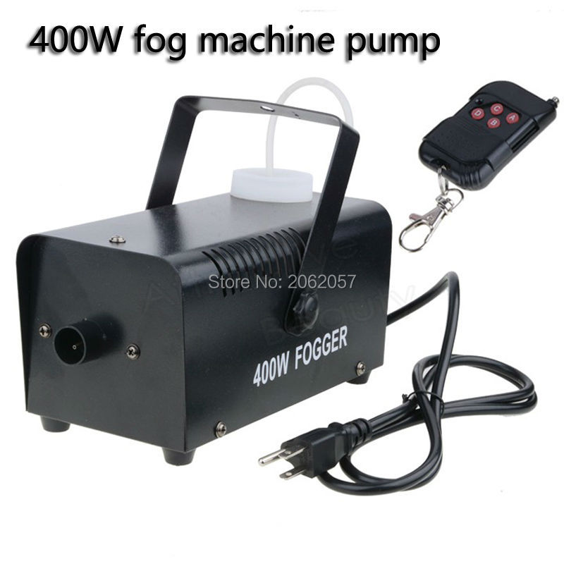 Hot sale mini 400W Wireless remote control fog machine pump dj disco smoke machine wedding party stage Lampblack machine free tax to eu hot sale 400w smoke machine mini fog machine dmx hazer machine special effects for stage light smoke projector