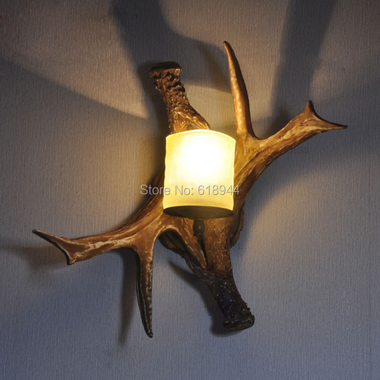 ФОТО Hot selling American Style Vintage Wall Lamp Designer Creative Dining Room Wall Light Fixture