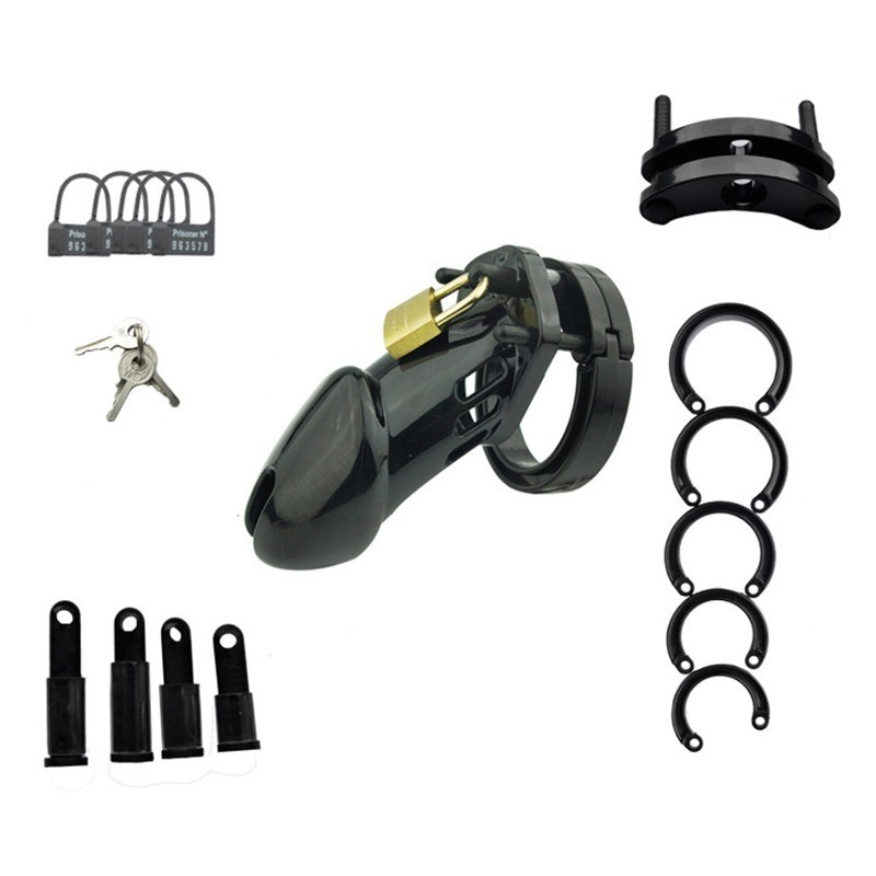 Chaste Bird Small/standard Male Chastity Device Cock Cage With 5 Size Rings Brass Lock Locking Sex Toy For Men Exotic Toys