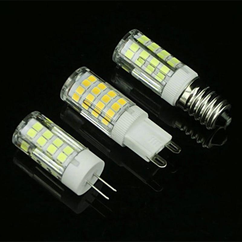 Lights & Lighting Ac 220v Bombillas E14 Lamp G9 Bulbs Led Light G4 Lamparas 4w Led Bulb Lamp Mini Corn Light 51smd 2835 Chip Ampoule Candle Luz Shrink-Proof Led Bulbs & Tubes