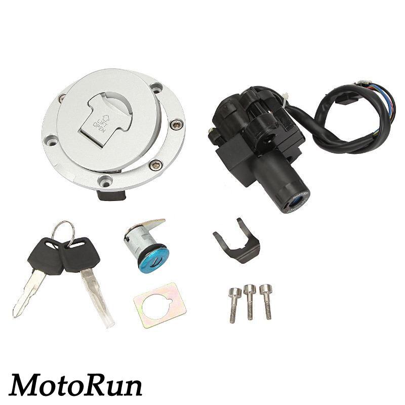 Fuel Gas Cap Ignition Switch Lock Key Set For Honda CBR600 F2 CBR600 F3 95-98