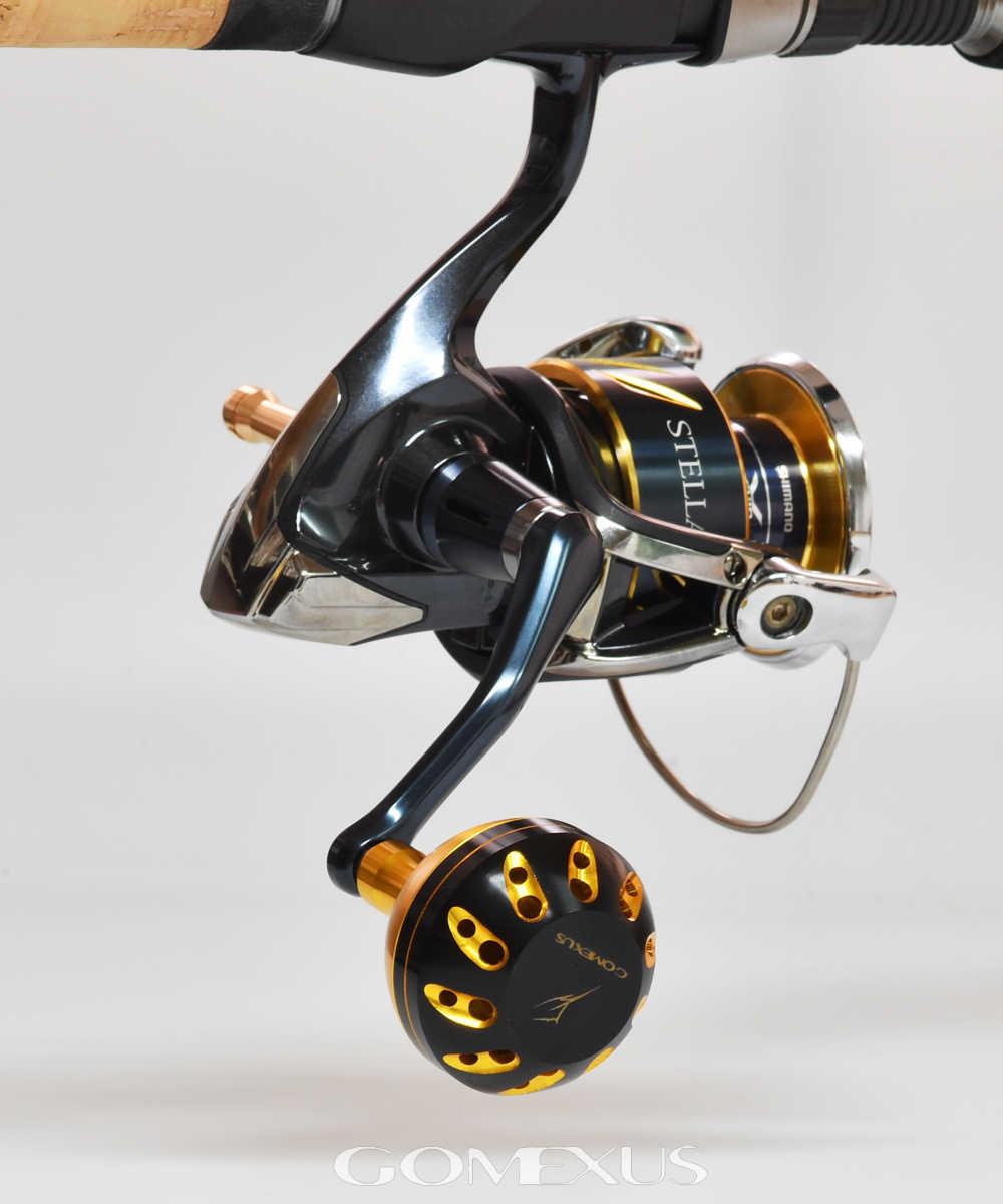 Gomexus Power Knob For Daiwa BG Legalis Penn Spinfisher Battle Slammer Z Shimano Activecast Saragosa Reel Handle Drilling