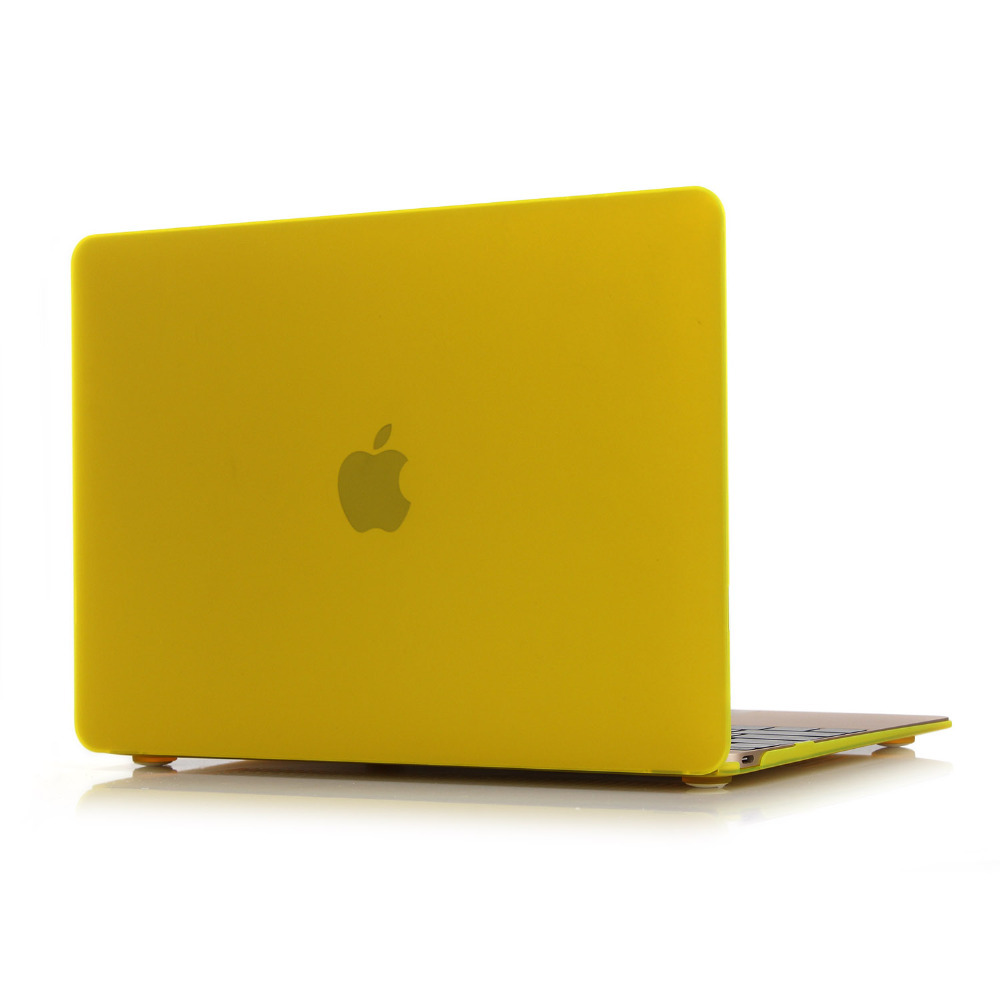 Metallic Colour Grind arenaceous Rubberized Matte Surface Hard Cover Case For macbook retina 12 A1534 TPU without logo