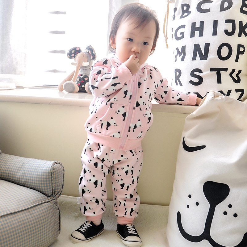Cartoon Cute Panda Baby Rompers Infant Newborn 0-24M Bow Romper Costume Cotton  long sleeved hoodie coveralls for Boy Girl baby rompers cartoon cotton boys girls romper long sleeve coveralls for newborn cotton infant jumpsuit o neck newborn sleepwear