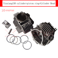 YX150 YX160 2 Valves Engine Cylinder Head  +60mm ylinder for YX 150cc Pit Dirt Bikes