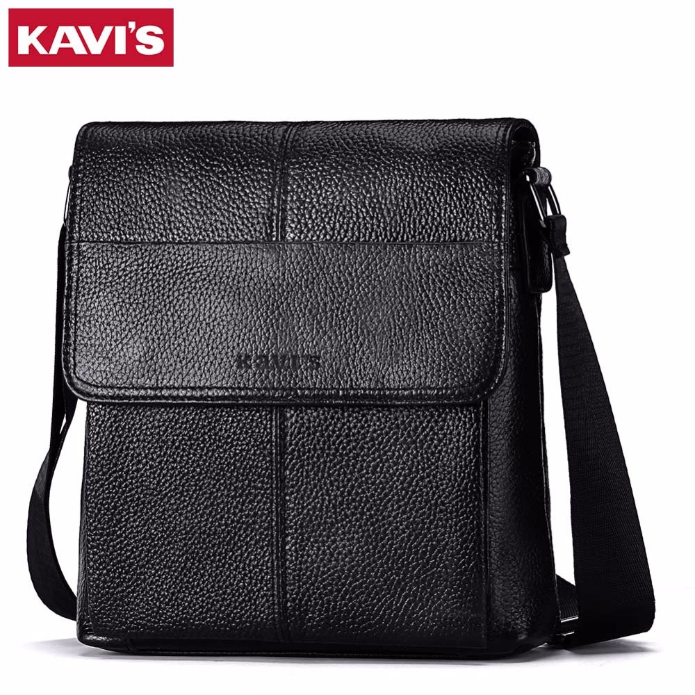 Кавис сумка Для мужчин мужская сумка из натуральной кожи сумки Bolsas Crossbody Сумка слинг груди Портфели мужской для небольшой мини