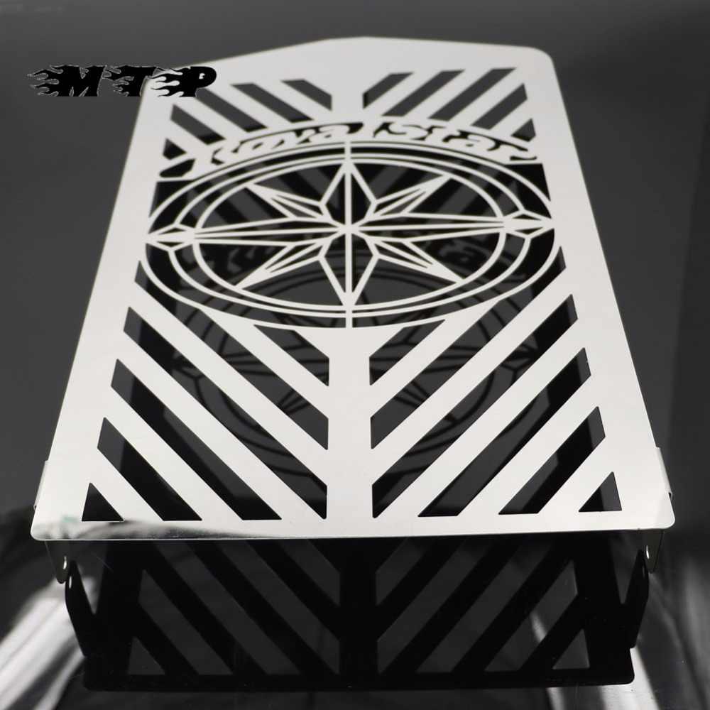 Crâne Grille de Radiateur Garde Housse Protection pour Yamaha XVZ13 Royal Star A