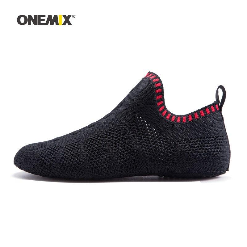 2019 hommes pataugeant en amont chaussette chaussures pour femmes jogging pas de colle baskets intérieur Yoga sport chaussure en plein air Trekking marche pantoufles - 2