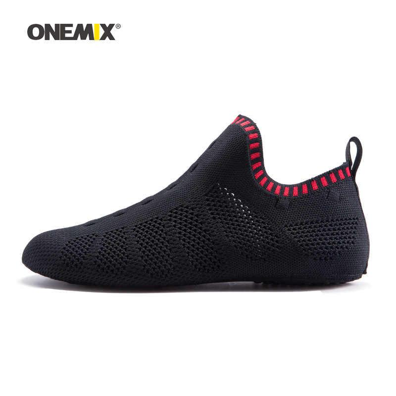 2019 גברים שכשוך במעלה הזרם גרב נעלי לנשים ריצה לא דבק סניקרס מקורה יוגה ספורט נעל חיצוני טרקים הליכה נעלי בית