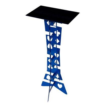 Tableau de magicien de qualité supérieure-pliage (bleu), tour de magie, accessoires, mentalisme, scène, gros plan, comédie, jouets Magia
