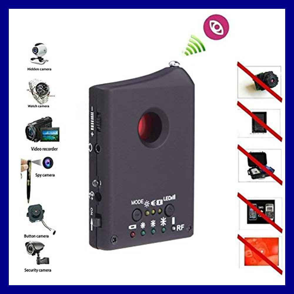 Full Range Wireless Anti-Spy Bug Detect RF Signal Detector Camera GSM Device Finder FNR Full-frequency Detector Audio Bug Finder