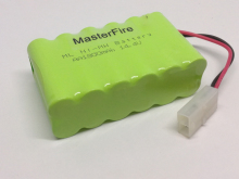 MasterFire New Original Ni-MH 14.4V 1800mAh Battery AA Rechargeable Batteries Pack With Plugs