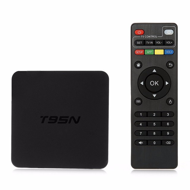 S905 T95N Android 5.1 TV BOX Amlogic quad-core 2G + 8G Bluetooth 4.0 Inteligente Android Tv caja IPTV