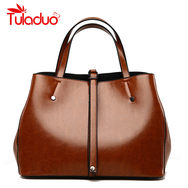 Tuladuo 2018 New Women Bag Luxury Brand PU Leather Female Handbags Fashion Ladies Bag Designer Shoulder Bags Large Totes Bag Sac elegant top handle handbags female new designer pu leather evening bag 2017 fashion high grade exquisite embroidered women totes