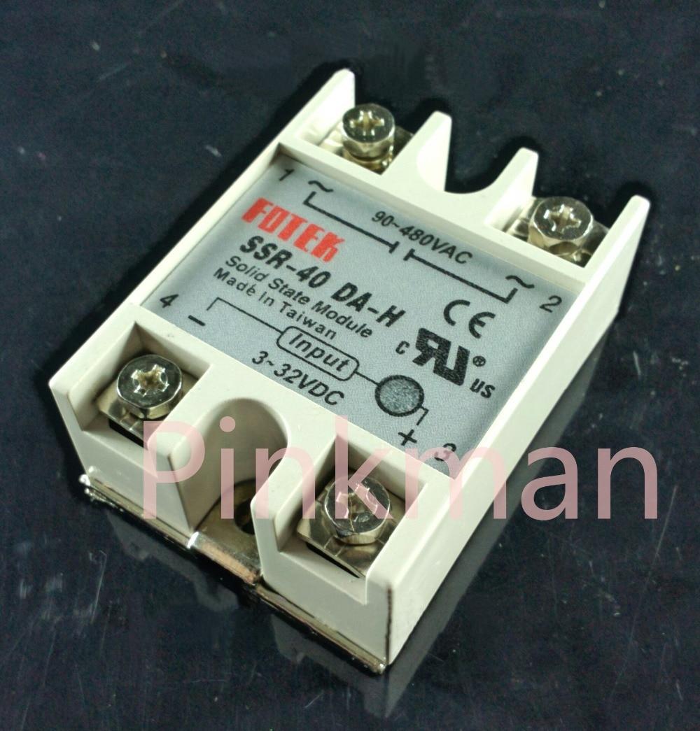 1 pc FOTEK 40DA-H Solid State Relay SSR DC-AC