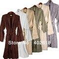 ( 1 pçs/lote ) de bambu roupão Adluts roupão, Vestir vestido 100% de fibra de bambu, Brown / preto / verde escuro cores, Eco friendly