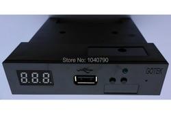 Lo nuevo en la versión SFR1M44-U100K negro 3,5 1,44 MB SSD con USB disquete emulador GOTEK para YAMAHA KORG ROLAND teclado electrónico GOTEK