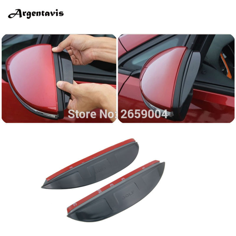 Volkswagen Cabrio Rearview Mirror Rearview Mirror For: Car Rearview Mirror Rain Eyebrow For Volkswagen VW Golf 7