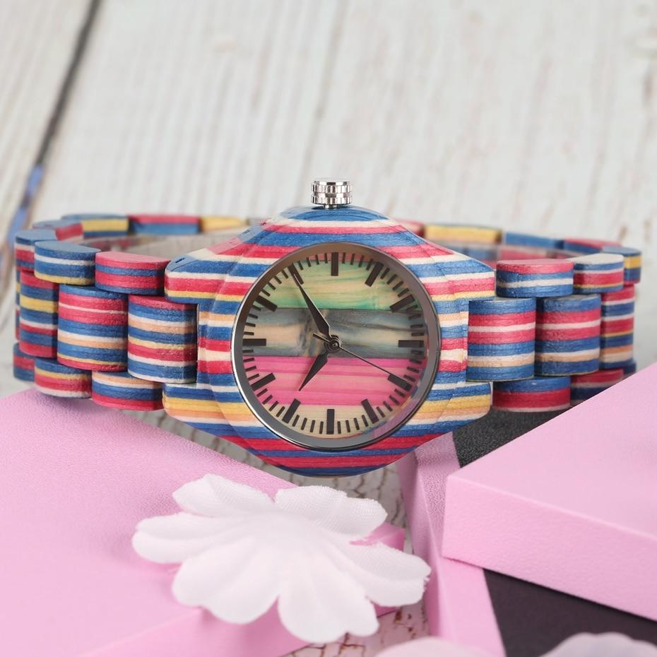topo relógio de luxo feminino quartzo de