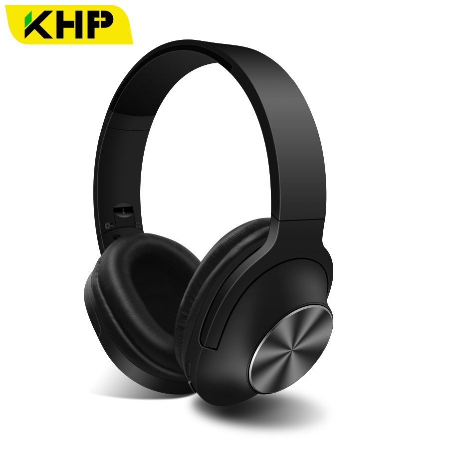 KHP T6S Bluetooth Earphone Headphone For iPhone Sony Wireless Headphone Bluetooth Headphones Headset Gaming Cordless Microphone 2018 wireless headset foldable bluetooth headphone stereo wireless earphone microphone bluetooth earphone bluetooth headphones