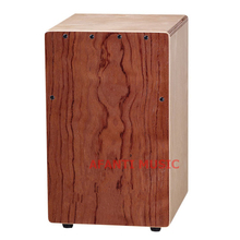 Afanti Music Rosewood / Birch Wood / Natural Cajon Drum (KHG-191)