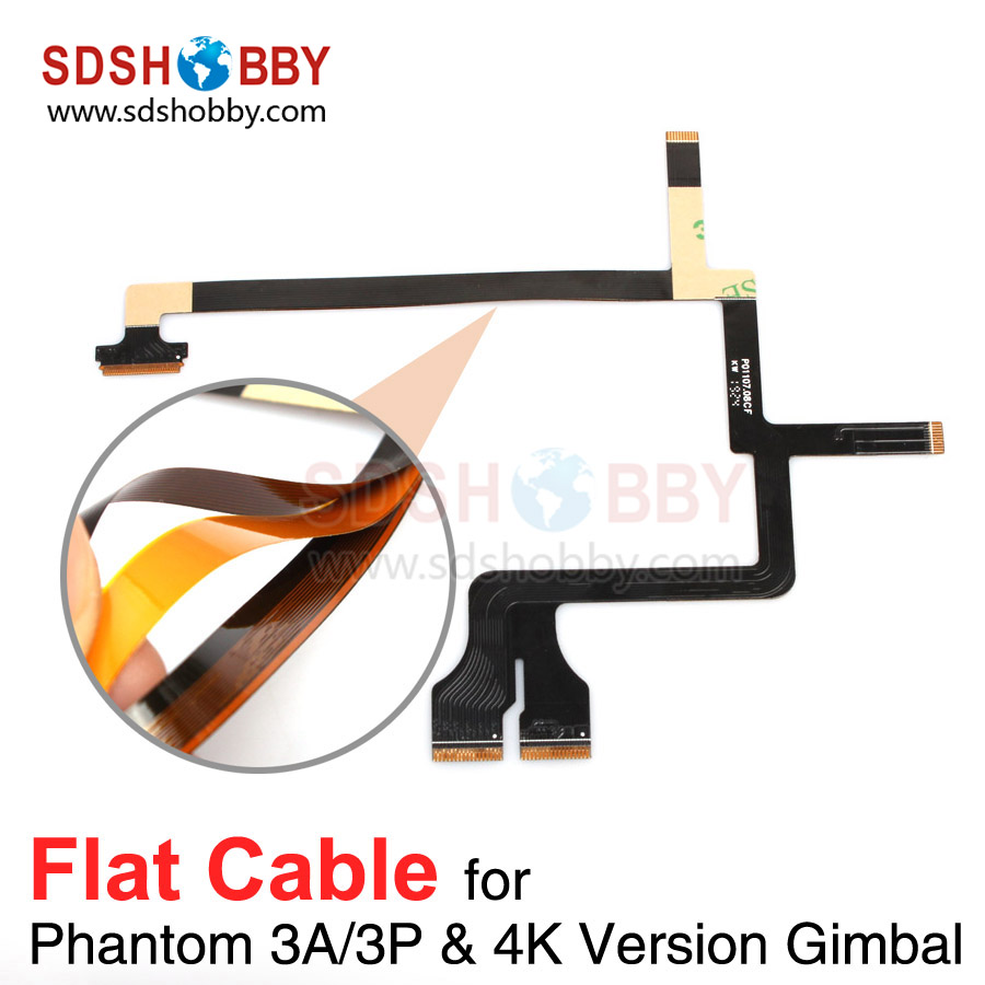 DJI Phantom 3A/3P/4K Version Gimbal Flat Cable Repairing Use Flat Wire for Phantom 3 Advanced Professional 4K Gimbal Accessory