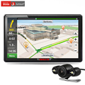Junsun nueva 7 pulgadas hd pantalla capacitiva del gps del coche de navegación de visión Trasera Bluetooth FM 8 GB/256 M DDR/800 MHZ Camión vehículo gps Navi envío