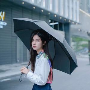 Image 5 - Youpin 접는 자동 우산 WD1 23 인치 강한 windproof 아니 필름 들어 갔어 방수 안티 자외선 태양 우산