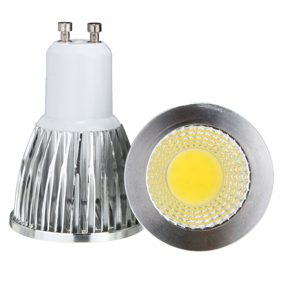 AC 85-265V 5W GU10 LED COB Spot light lamp Energy Saving light bulb Aluminum Spotlight Led Lighting
