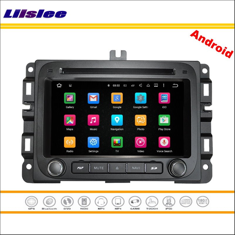 Liislee Car Android Multimedia For Dodge RAM 1500 2014~2016 Stereo Radio Video CD DVD Player GPS Map Nav Navi Navigation System