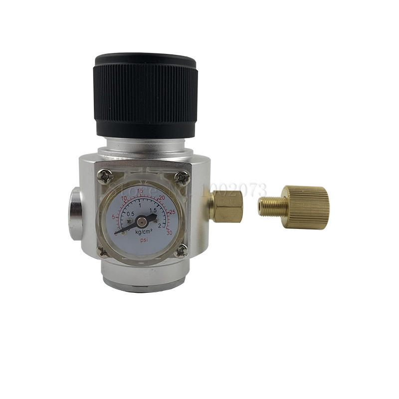 Homebrew Gas Regulator 0 30PSI CO2 Mini regulator For homebrew Beer Corny keg Bar Accessories