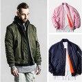 Hombres Chaqueta de Bombardero MA1 Chaqueta de Invierno Para Hombre Abrigos Chaquetas Parkas Para Hombre de Hip Hop Streetwear KANYE WEST Jacket Coats